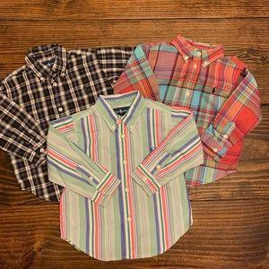 Set of 3 Ralph Lauren Shirts